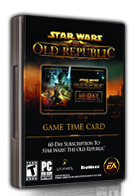 SWTOR 60-Day Pre-Paid Time Card