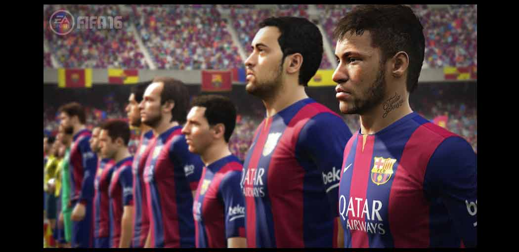 FIFA 16 screenshot
